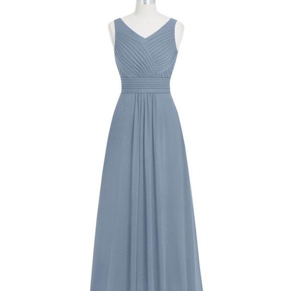 e757f4dda92 Azazie Dresses   Skirts - Azazie Pierrette Bridesmaid Dress (in Dusty Blue)